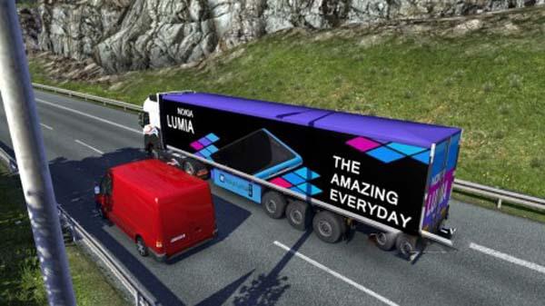 Nokia Lumia Trailer Skin