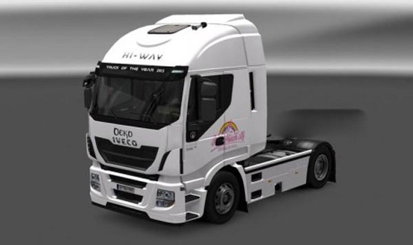Pink Plush AG Iveco Hi-Way skin
