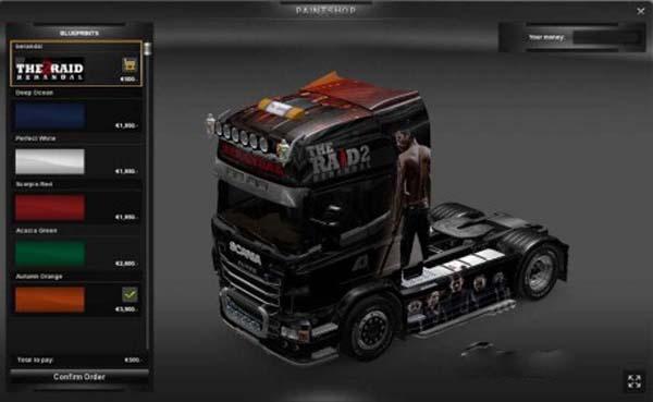 Scania Berandal Skin