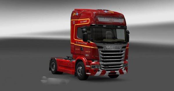 Scania D.Steven & Son Skin