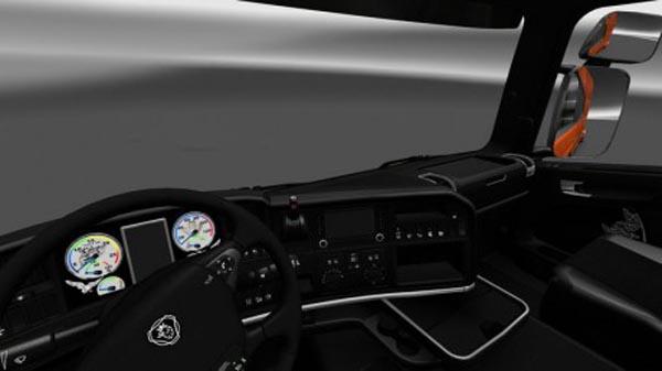 Scania Dark Line Exclusive Interior