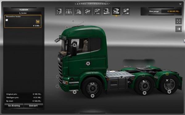 Scania Fenders