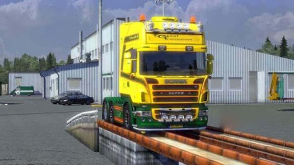 Scania Graaf Transport B.V. Leidschendam Skin