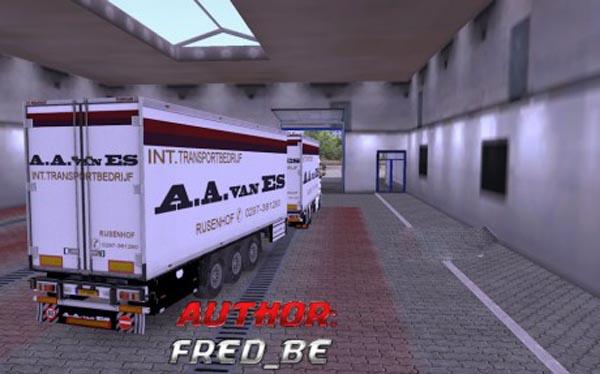 Scania R Tandem A.A.Van Es