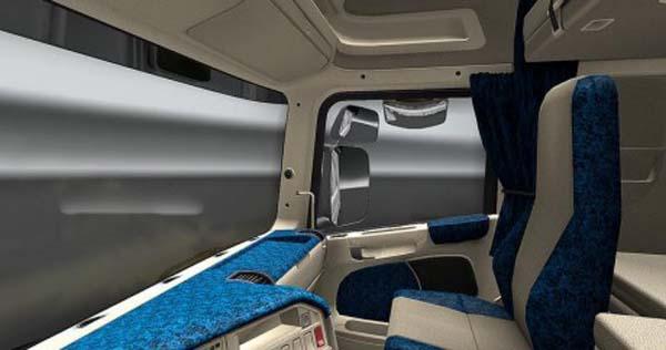 Scania R2008 Danish Interior