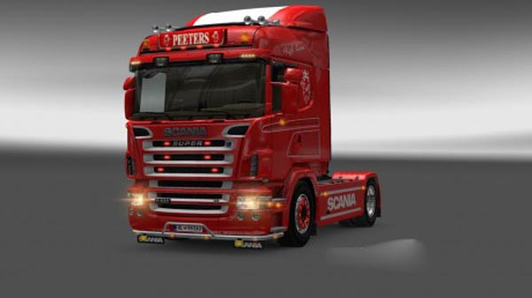 Scania R2008 Peeters Lightbox