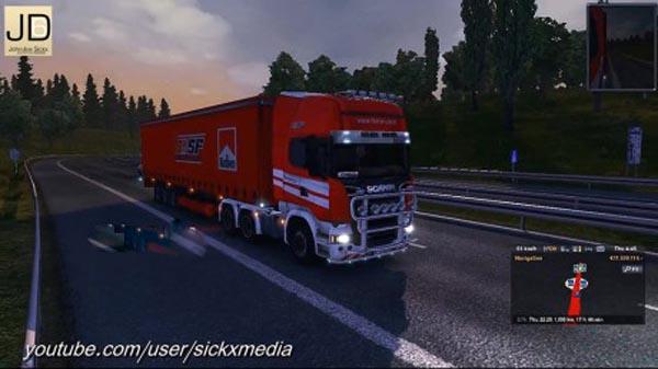 Scania Streamline – Ferrari