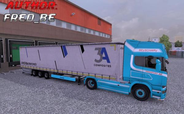 Scania Streamline + Trailer 3A