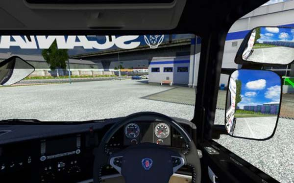 Scania Streamline Interior Camera