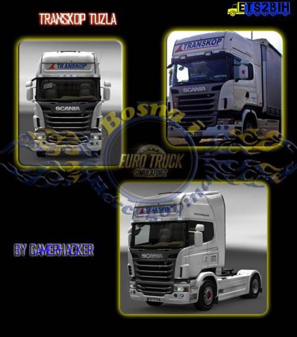 Scania Transkop Tuzla Skin