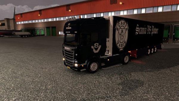 Scania V8 combo skinpack