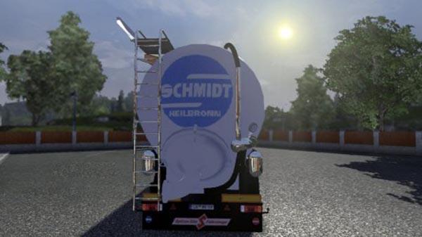 Schmidt Heilbronn Silo Trailer