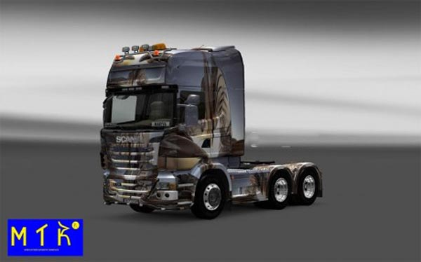 Skin Scania Background