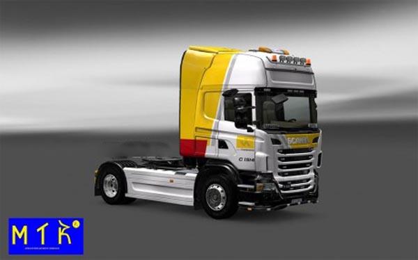 Skin Scania Itapemirim