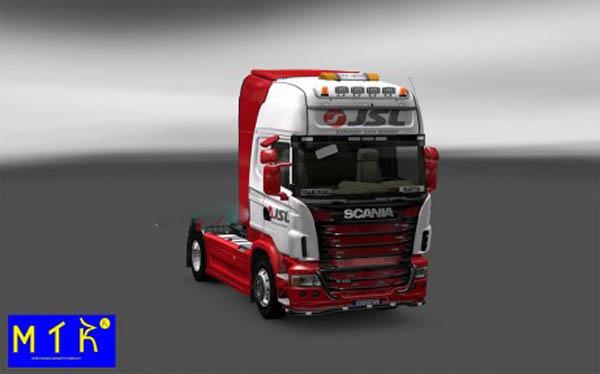 Skin Scania JSL