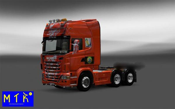Skin Scania Netherlands Copa 2014