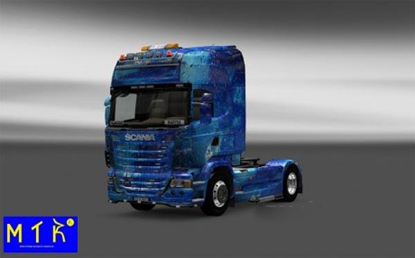 Skin Scania Water