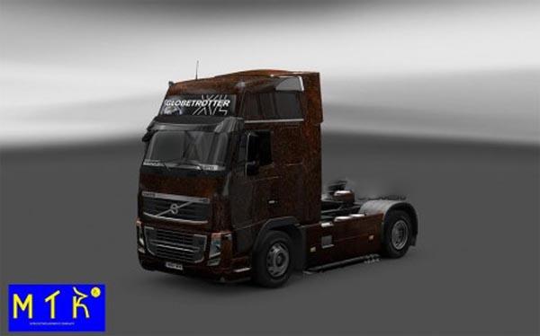 Skin Volvo FH 16 Ferrugem V5