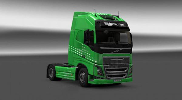 Volvo FH 2012 Green Arrow Skin