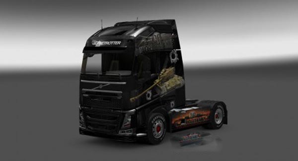 Volvo FH 2012 World of Tanks Skin