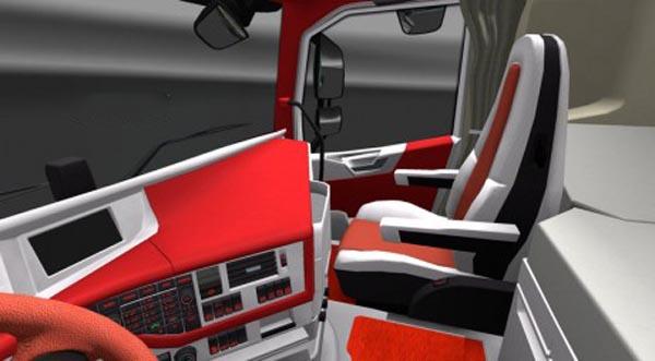 Volvo FH16 2012 1 FC Koln Interior