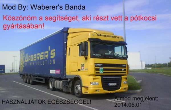 Waberers Schmitz Trailer