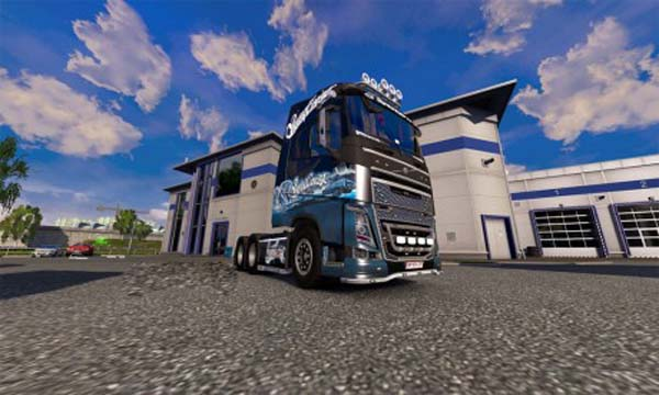 West Coast Customs Volvo FH2013 skin