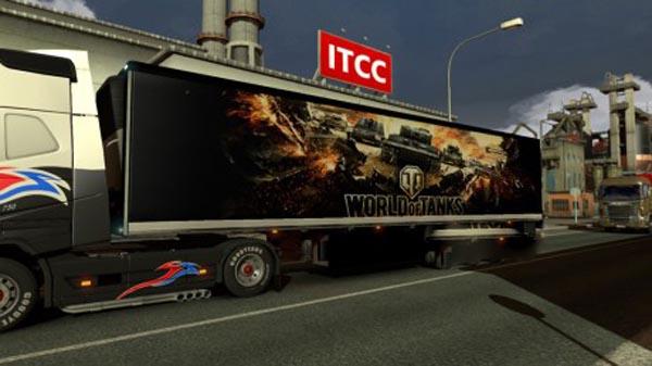 World of Tanks Trailer Skin