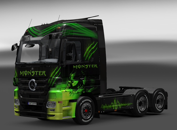 Actros monster skin