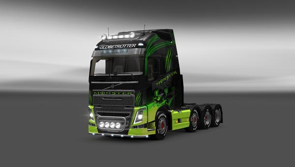 Monster volvo fh16 2012
