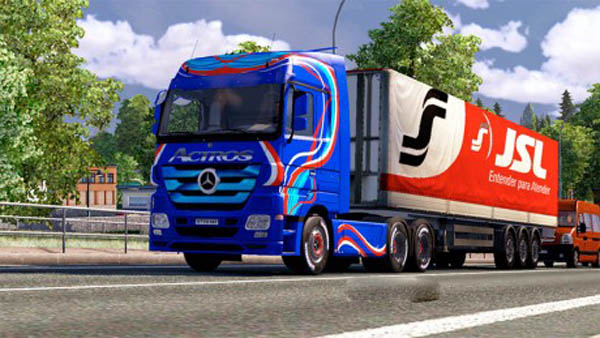 Actros Blue edition