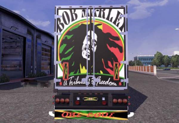 Bob Marley Trailer Skin