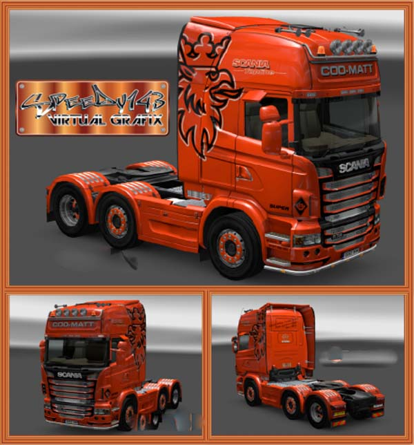 COO-MATT Scania R Series