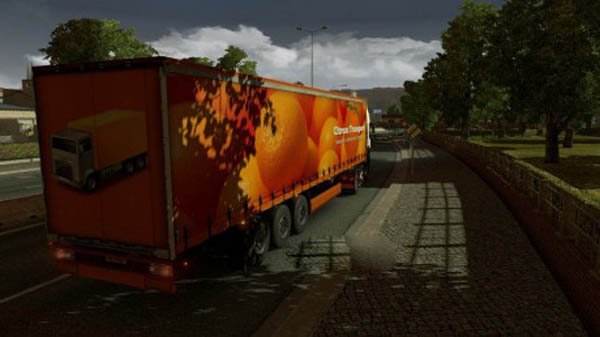 Citrusz Transport Trailer Skin