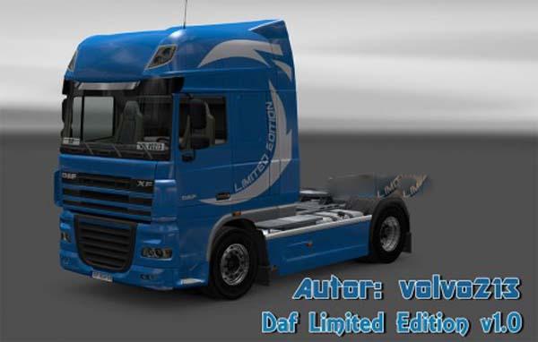 Daf Limited Edition