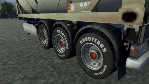 Good Year Wheels for Trailer