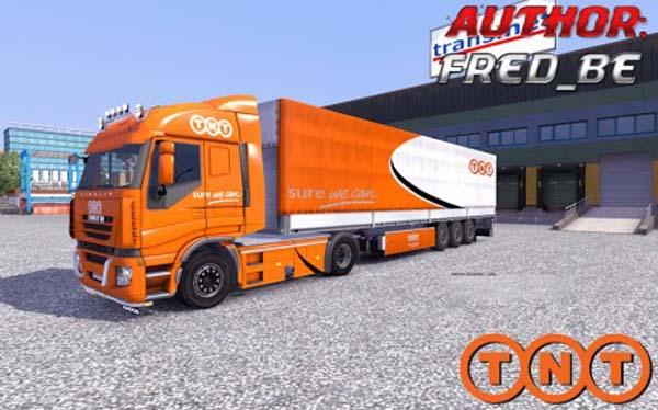 Iveco Stralis + Trailer Universal TNT