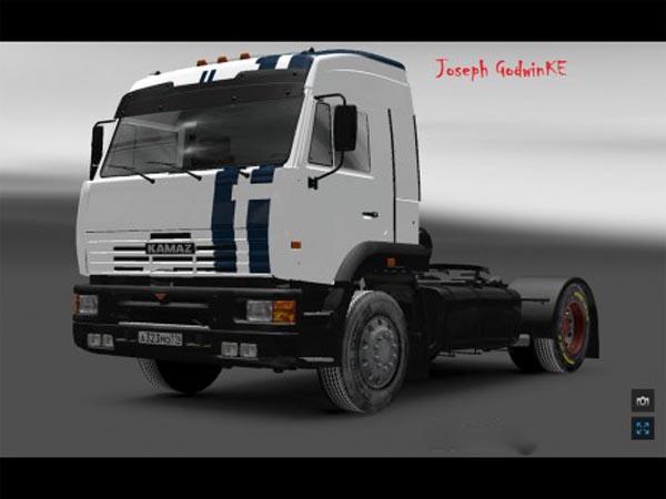 KAMAZ 5460 Physics