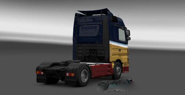 Mercedes Actros Holland Style Skin
