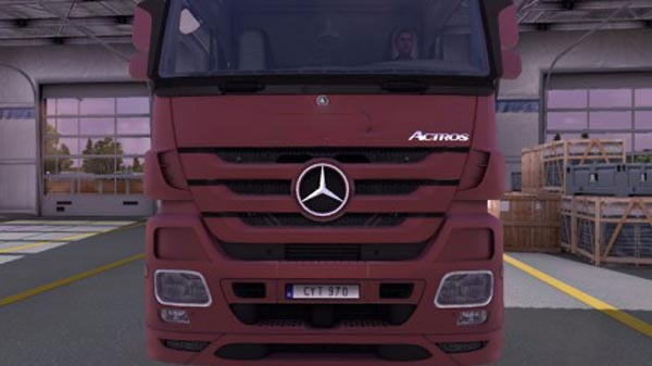 Mercedes Benz Actros Real Logo