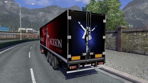 Michael Jackson Trailer Skin