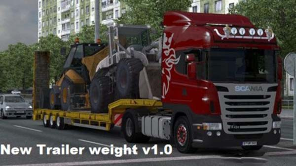 New Trailer Weight