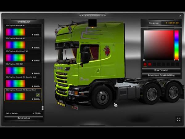 Norway BRING skin Scania r2008