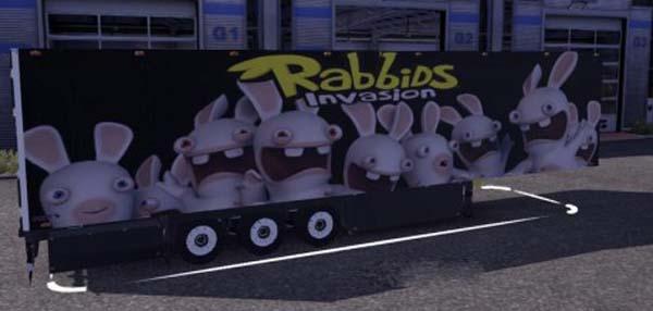 Rabbids Trailer Skin