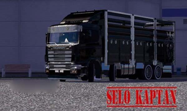 Scania 4 axe truck