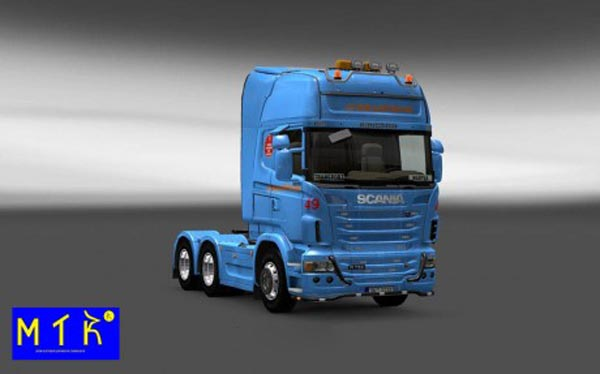 Scania Braspress Skin
