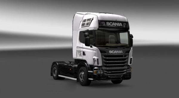 Scania Load Pipes Save Lives Skin
