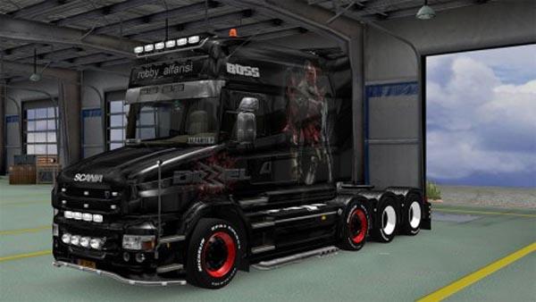 Scania Longline Dizzel INA