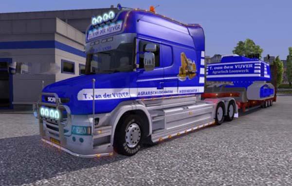 Scania Longline T. van der Vijver Skin