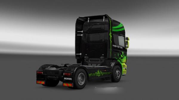 Scania Monster Skin